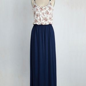 Large Modcloth Maxi Dress